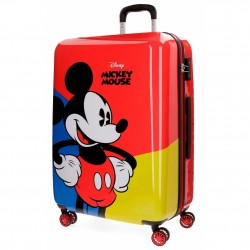 TROLLEY DISNEY MICKEY RED M